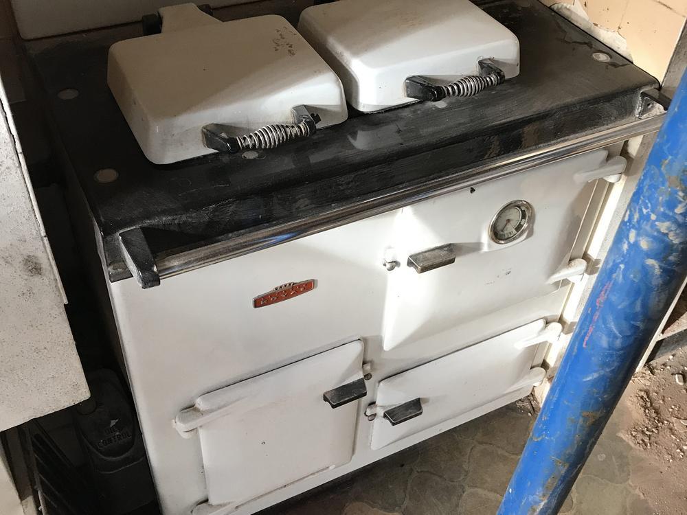 White Rayburn Royal Oven